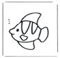 Petit poisson sous l'eau