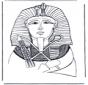 Pharaon masque de mort