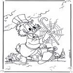 Personnages de bande dessinée - Picsou 2
