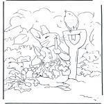 Coloriages faits divers - Pierre Lapin 2