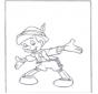 Pinocchio debout