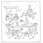 Coloriages faits divers - Pinocchio