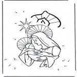 Bricolage coloriages - Points à relier 34