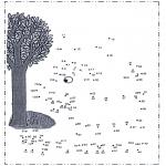 Bricolage coloriages - Points à relier 37