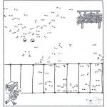 Bricolage coloriages - Points à relier 46