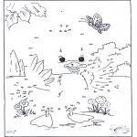 Bricolage coloriages - Points à relier 53