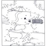 Bricolage coloriages - Points à relier 66