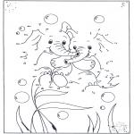 Bricolage coloriages - Points à relier 68