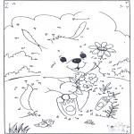 Bricolage coloriages - Points à relier 72
