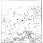 Bricolage coloriages - Points à relier 79