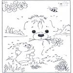 Bricolage coloriages - Points à relier 82