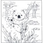 Bricolage coloriages - Points à relier 83