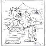 Bricolage coloriages - Points à relier 84