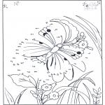 Bricolage coloriages - Points à relier 85