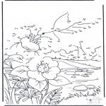 Bricolage coloriages - Points à relier 88