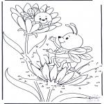 Bricolage coloriages - Points à relier 89