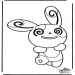 Personnages de bande dessinée - Pokemon 13