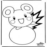 Personnages de bande dessinée - Pokemon 14