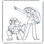 Personnages de bande dessinée - Pokemon 3