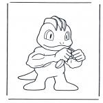 Personnages de bande dessinée - Pokemon 5