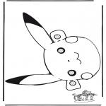 Bricolage cartes de piquer - Pokemon masque