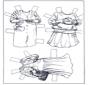 Poupée d'habiller - vêtements 3