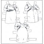 Bricolage coloriages - Poupée d'habiller - vêtements 6
