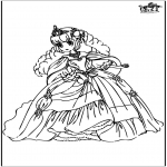 Coloriages faits divers - Princesse 10