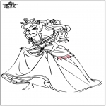 Coloriages faits divers - Princesse 5