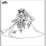 Coloriages faits divers - Princesse 8