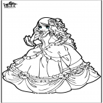 Coloriages faits divers - Princesse 9