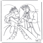 Coloriages faits divers - Princesse danseuse