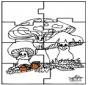 Puzzle - Automne
