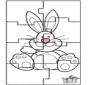 Puzzle du Lapin de Pâques 3