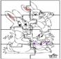Puzzle - Lapin de Pâques