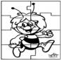 Puzzle - Maya l'abeille
