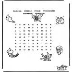 Bricolage coloriages - Puzzle - Pokemon 2