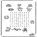 Bricolage coloriages - Puzzle - Pokemon 8