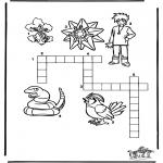 Bricolage coloriages - Puzzle - Pokemon 9