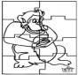 Puzzle - singe
