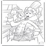 Personnages de bande dessinée - Ratatouille 1