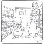 Personnages de bande dessinée - Ratatouille 2