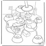 Personnages de bande dessinée - Ratatouille 8
