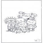 Personnages de bande dessinée - Razmoket 4