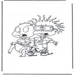 Personnages de bande dessinée - Razmoket - Labinocle