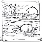Personnages de bande dessinée - Riri et Loulou