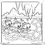 Personnages de bande dessinée - Riri Fifi et Loulou 3