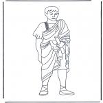 Coloriages faits divers - Romain