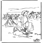 Coloriages Bible - Ruth 2