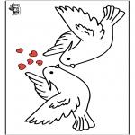 Coloriage thème - Saint-Valentin 16